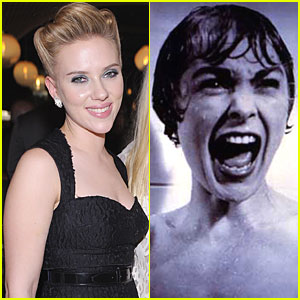 Scarlett Johansson: Janet Leigh in 'Making of Psycho'!