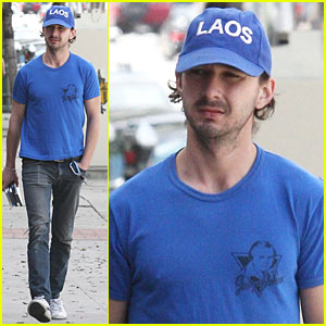 Shia LaBeouf Shaves Scruffy Beard