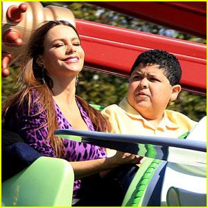 Sofia Vergara: Dumbo Ride with Rico Rodriguez!