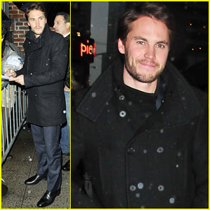 Taylor Kitsch: 'Late Show With David Letterman' Visit!