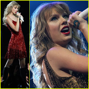 Taylor Swift Debuts 'Hunger Games' Song 'Eyes Open' - Watch Now!