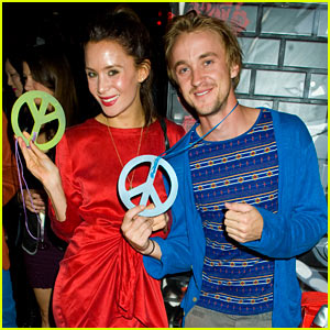 Tom Felton: Just Jared's 30th Birthday Bash with Jade Olivia!