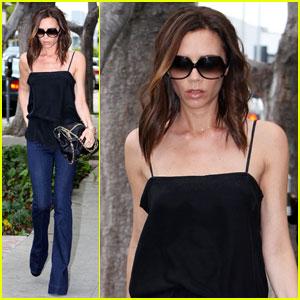 Victoria Beckham: Romeo Got Pax Jolie-Pitt's Guitar!