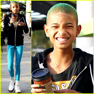 Willow Smith: Green-Haired Girl!