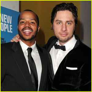 Zach Braff & Donald Faison: 'All New People' Party!