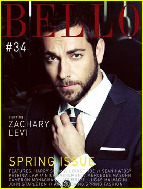 Zachary Levi Covers 'Bello' Magazine