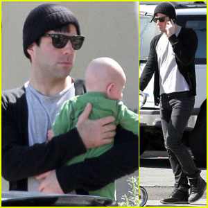 Zachary Quinto: Babysitting in Silver Lake