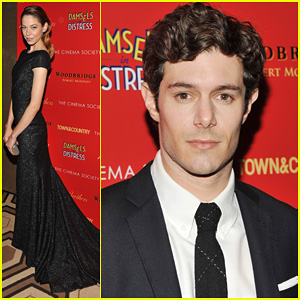 Adam Brody & Analeigh Tipton: 'Damsels in Distress' Screening!