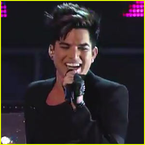 Adam Lambert Jams Out On 'Jimmy Kimmel' - Watch Now!