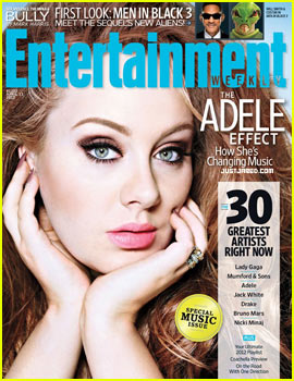Adele Covers 'Entertainment Weekly'