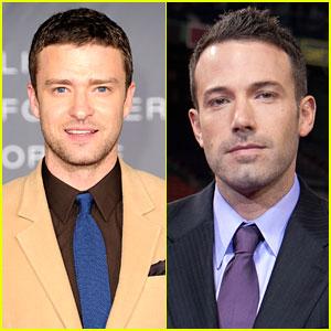 Justin Timberlake & Ben Affleck: 'Runner, Runner' Co-Stars