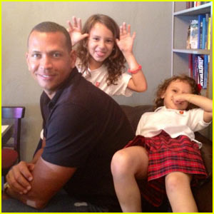 Alex Rodriguez: Daughters Day with Daddy!