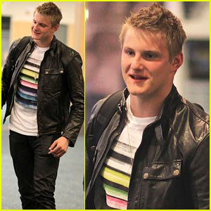 Alexander Ludwig Heads Home to Vancouver!