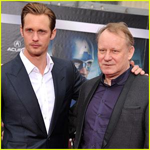 Alexander Skarsgard: 'Avengers' Premiere with Dad Stellan!