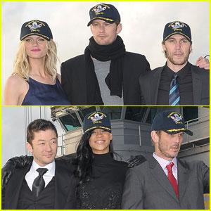 Alexander Skarsgard & Rihanna: 'Battleship' in Japan!