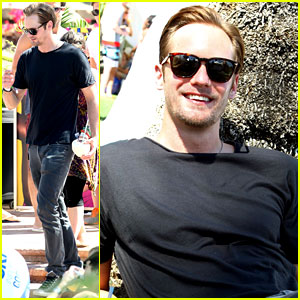 Alexander Skarsgard: SKYY Escape at Coachella!