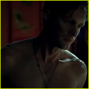Alexander Skarsgard: Shirtless For New 'True Blood' Promo!