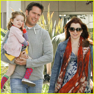 Alyson Hannigan: Family Lunch Date