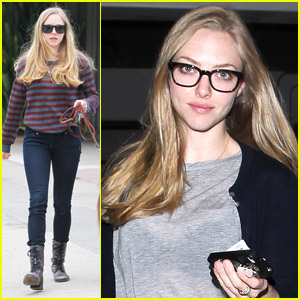 Amanda Seyfried: Thursday Pampering for Finn!