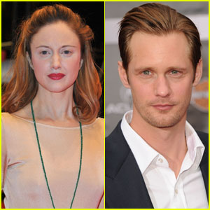 Andrea Riseborough: Alexander Skarsgard's Wife in 'Hidden'!