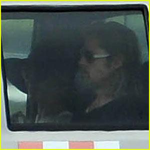 Brad Pitt & Angelina Jolie Head To Galapagos Airport