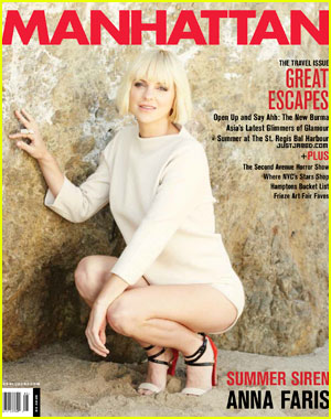 Anna Faris Covers 'Manhattan' May 2012