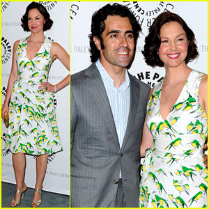 Ashley Judd: Paley Center with Dario Franchitti!
