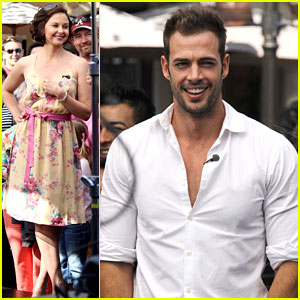 Ashley Judd & William Levy: 'Extra' at the Grove!