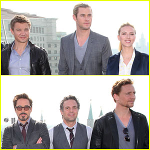 'Avengers' Cast: Photo Call in Moscow!