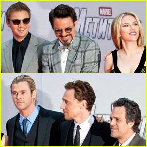 'Avengers' Cast: Moscow Premiere!