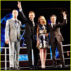'Avengers' Cast: Rome Premiere!
