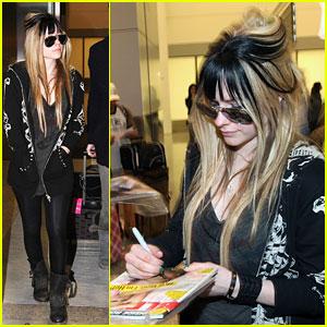 Avril Lavigne's Sexiest 'Abbey Dawn' Line Yet!