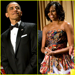 Image result for obama at correspondents dinner