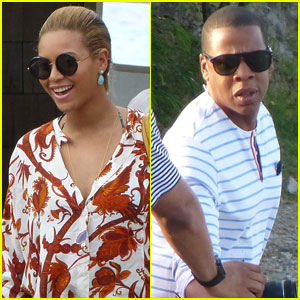 Beyonce & Jay-Z: Boating With Blue Ivy!