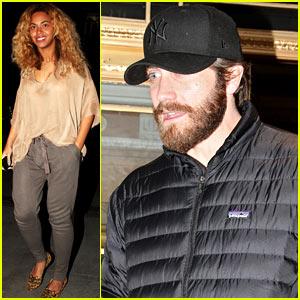 Beyonce & Jake Gyllenhaal: Dinner Party Pair!