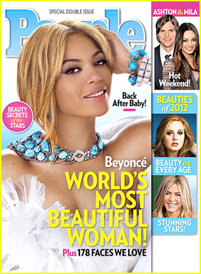 Beyoncé named People's Most Beautiful Woman 2012. 1