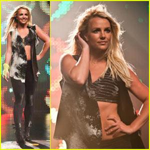 Britney Spears: Twister Dance, X Factor Talk