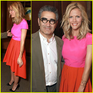 Brooklyn Decker: CinemaCon 2012 with Eugene Levy!