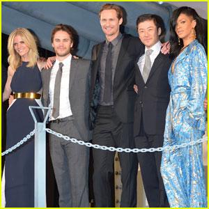 Alexander Skarsgard Premieres 'Battleship' in Japan