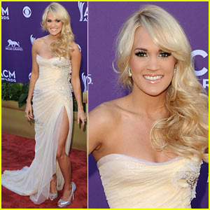 Carrie Underwood - ACM Awards 2012 Red Carpet