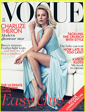 Charlize Theron: 'Vogue UK' May 2012 Cover!