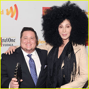 Cher Surprises Chaz Bono at the GLAAD Awards!