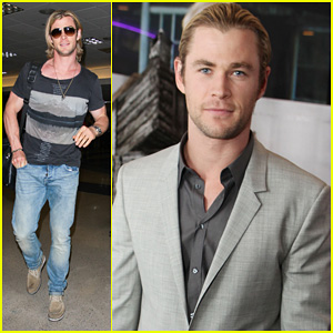 Chris Hemsworth: 'Cabin In The Woods' Screening!