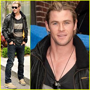 Chris Hemsworth: 'Late Show' Appearance!