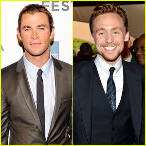 Chris Hemsworth & Tom Hiddleston: 'Avengers' NYC Premiere!