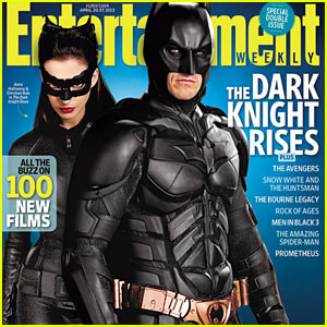 Christian Bale Covers 'Entertainment Weekly' with Anne Hathaway
