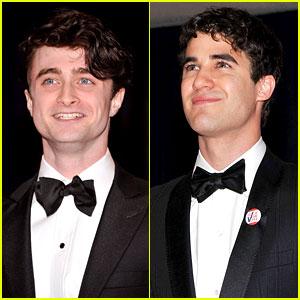 Daniel Radcliffe & Darren Criss - White House Correspondents' Dinner 2012