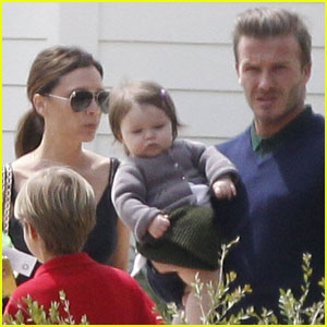 David & Victoria Beckham: Easter in Napa Valley!