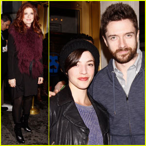 Topher Grace & Olivia Thirlby: 'Best Man' Broadway Opening!