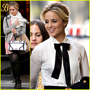 Dianna Agron is 'Up, Up, Up' on Glee!
